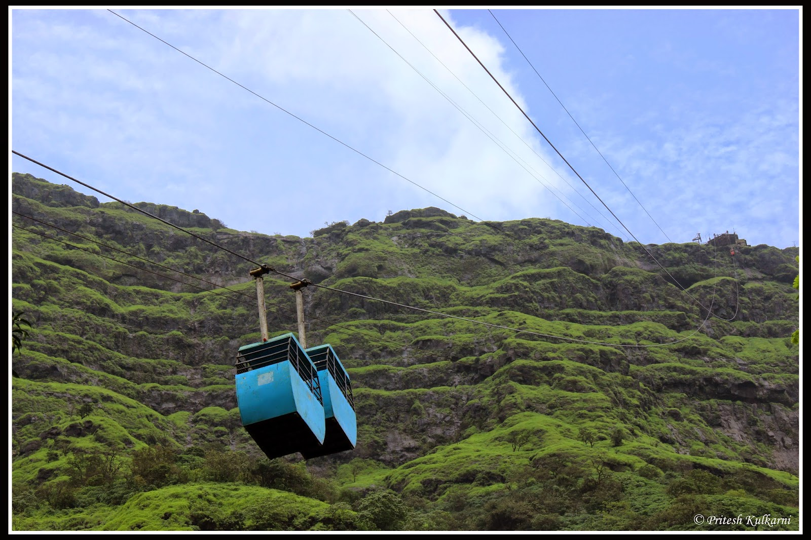 Raigad rope-way
