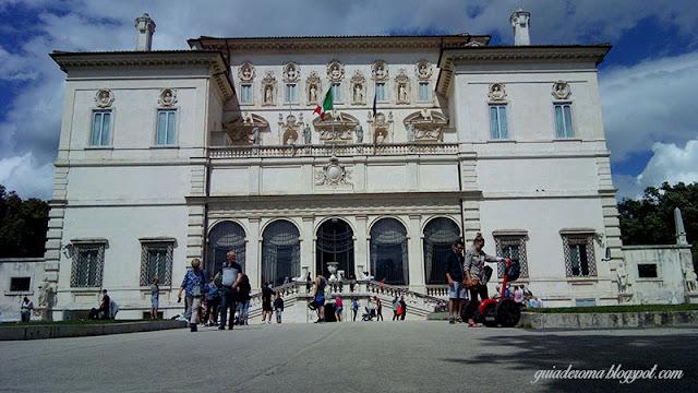 galeria borghese turismo em Roma - Roma Barroca