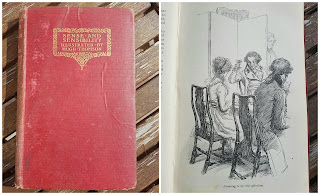 Book cover: Sense & Sensibility by Jane Austen with Illustrations by Hugh Thomson