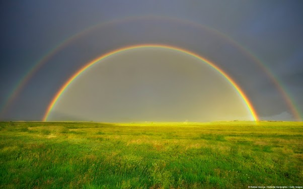 Double Rainbow (Silt, Colorado, U.S.)