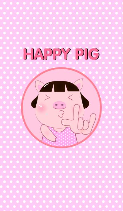 Simple Happy PookPik Pig Girl (JP)