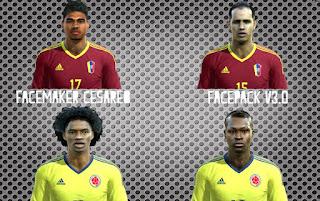 Facepack Copa America Centenario Pes 2013 By Cesareo