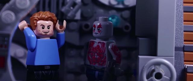 Guardianes de la Galaxia Vol.2 muestra su tráiler con piezas lego