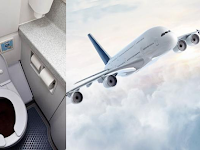 Kotoran Toilet dalam Pesawat Dibuang Kemana, Anda Pasti Syok Tahu Jawabannya