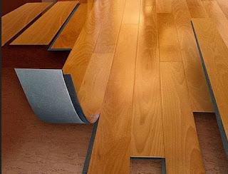 contoh lantai vinyl motif kayu