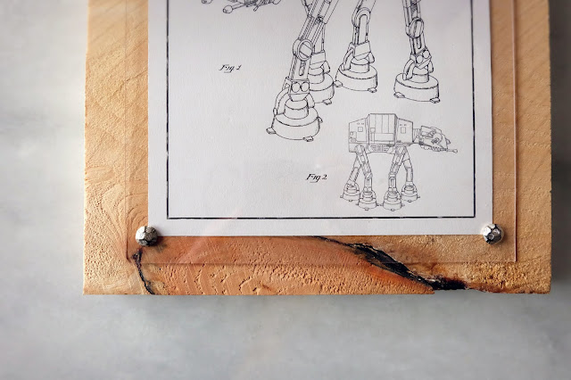 wood panel framing picture tack acrylic sheet craft
