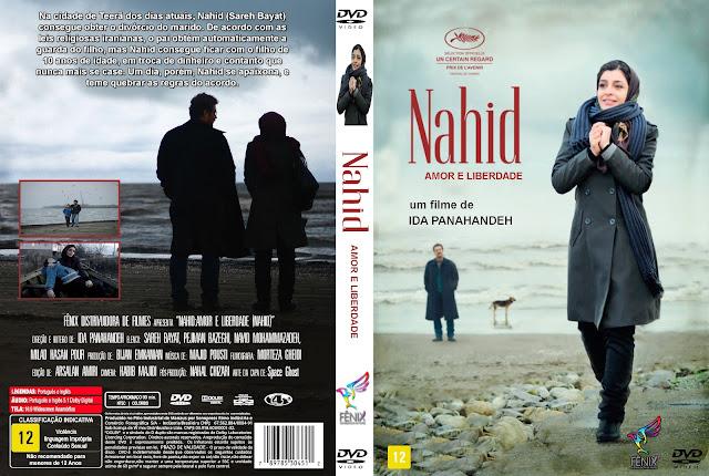 Capa DVD Nahid Amor E Liberdade
