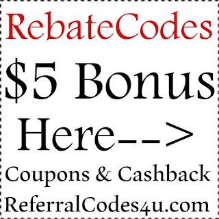 RebateCodes.com Sign up Bonus 2020, RebateCodes Refer A Friend Program, RebateCodes.com Reviews