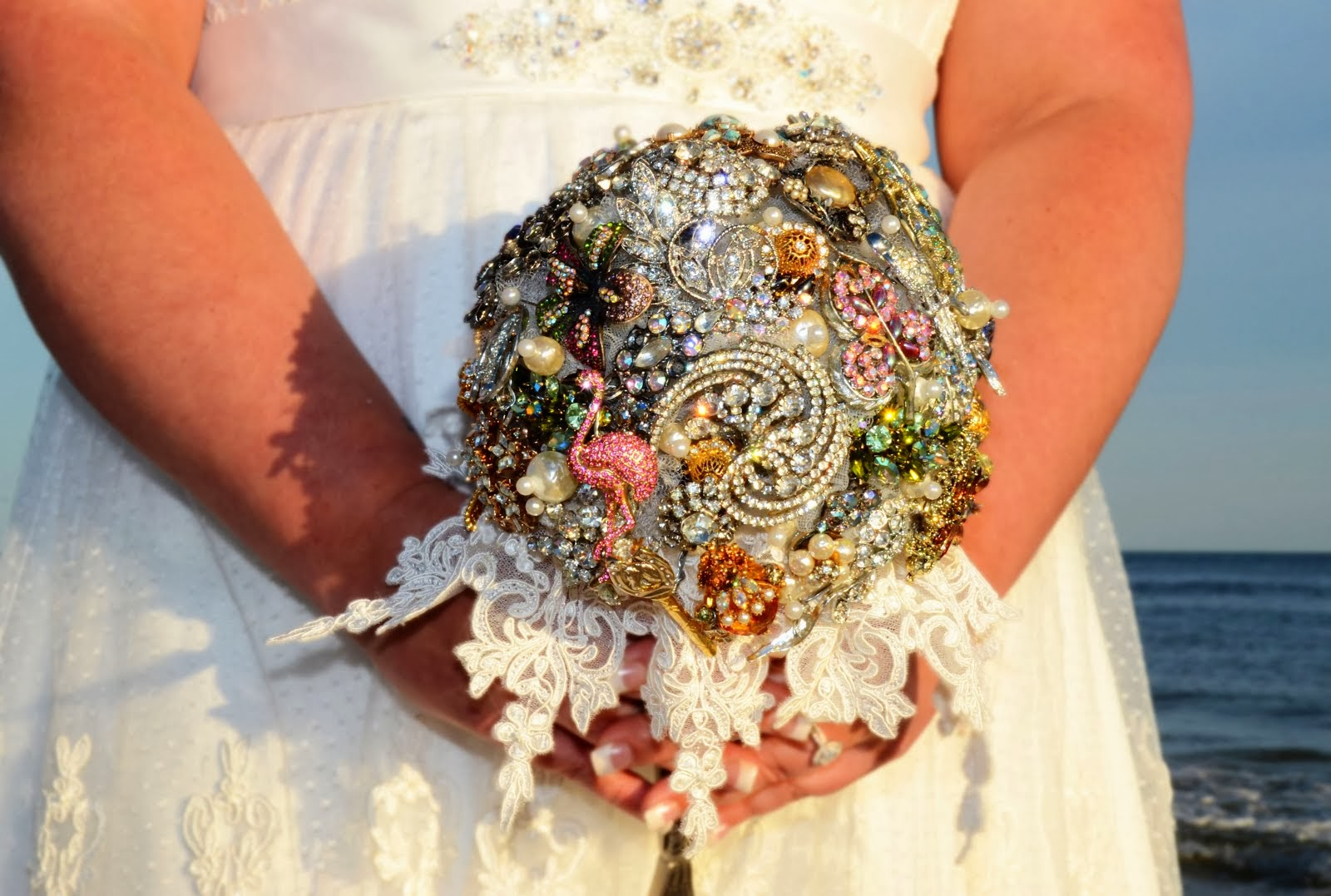 Sunset Beach Weddings For The Crafty Bride Make Your Own Brooch