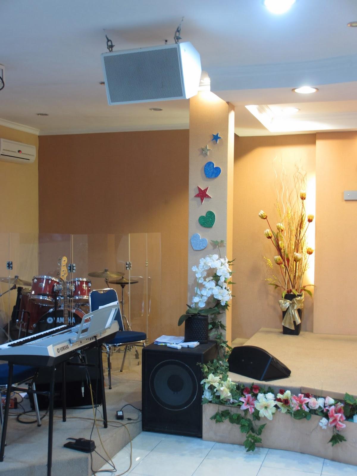 Sound System Profesional Speaker Custom Berapa Kali Gereja Harus