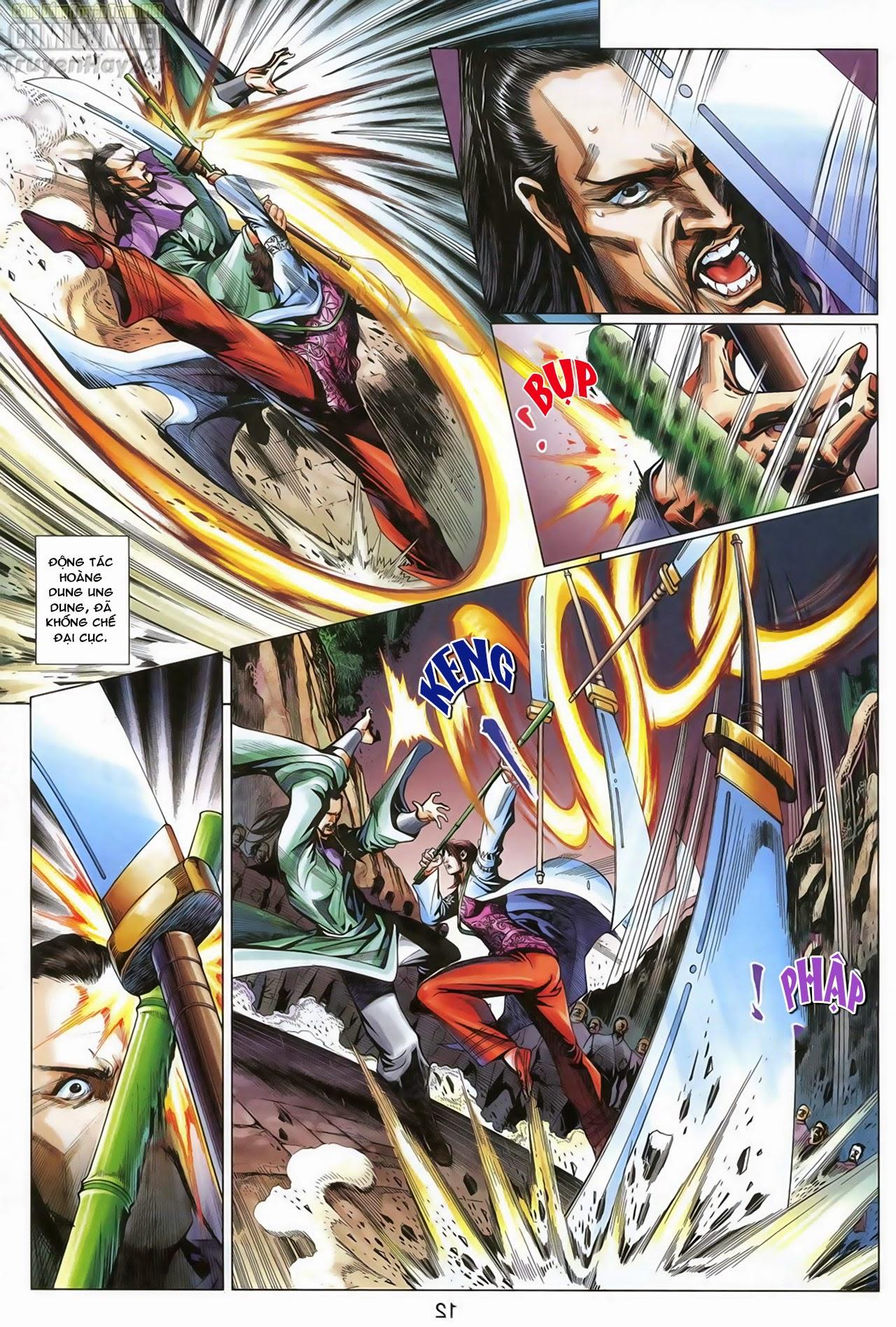 Anh Hùng Xạ Điêu anh hùng xạ đêu chap 68: di thư chân kinh - lừa tình trang 13
