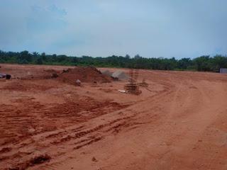 Penimbunan Lahan di Guntung, Informasinya Milik PT.Wasmax Diduga Tak Berizin