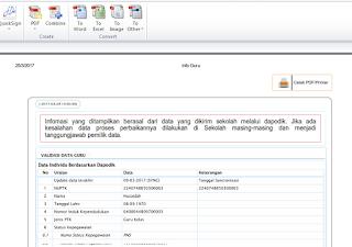 cara cetak halaman info gtk  ke format pdf