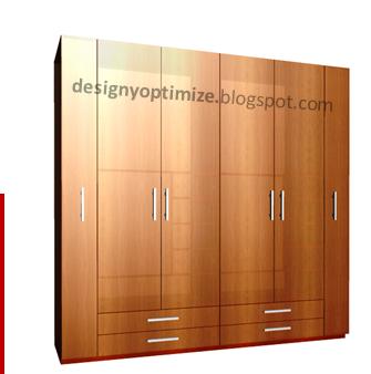 Dise o de muebles madera creaci n de armario con for Melamina pdf