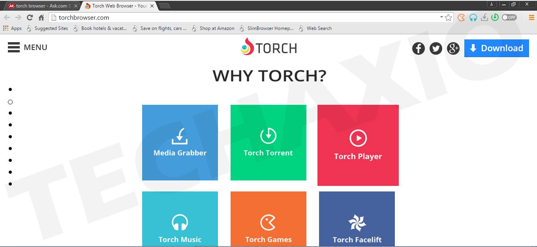 Torch Browser Screenshot