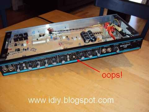 diary of a handyman repairing a peavey bandit 112 guitar amp. Black Bedroom Furniture Sets. Home Design Ideas