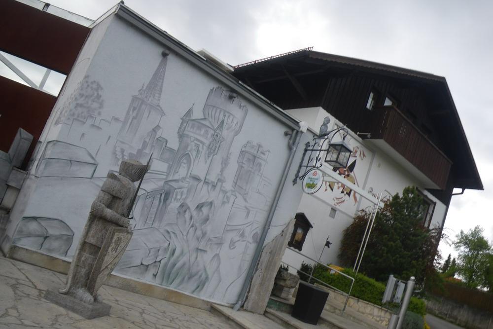auswärts essen regensburg: In der Ritterschänke Burg Randeck im ...