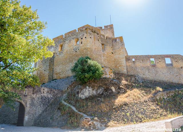 Castillos-de-Portugal, castillo de Tomar, bastión templario.