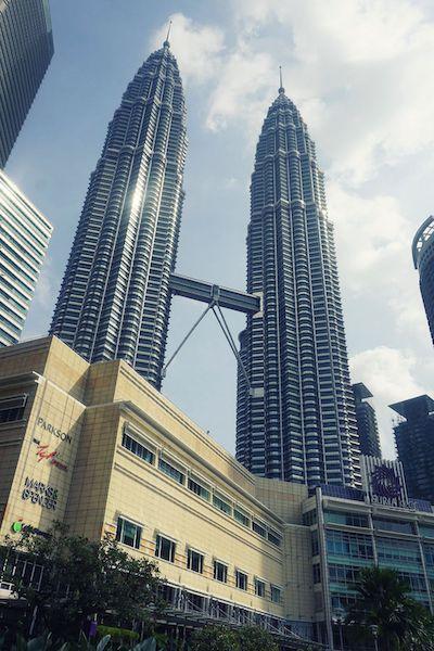 世界一高いツインタワー、ペトロナスタワー