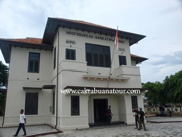 musium timah Muntok Kabupaten Bangka Barat Propinsi Bangka Belitung