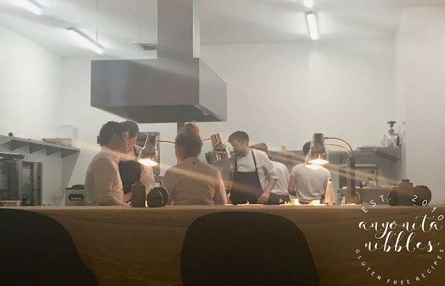 Liz Cottam in the kitchen with her team at Home