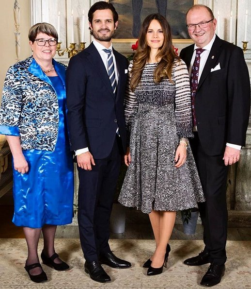 Princess Sofia wore Lars Wallin Berry Dress