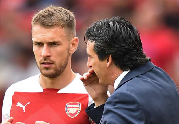Aaron Ramsey Totally Oblivious of Contract Situation