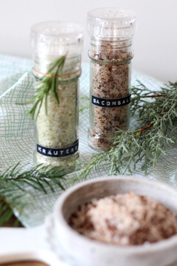 Geschenke aus der Küche: Zweierlei Gewürzsalz (Werbung ...