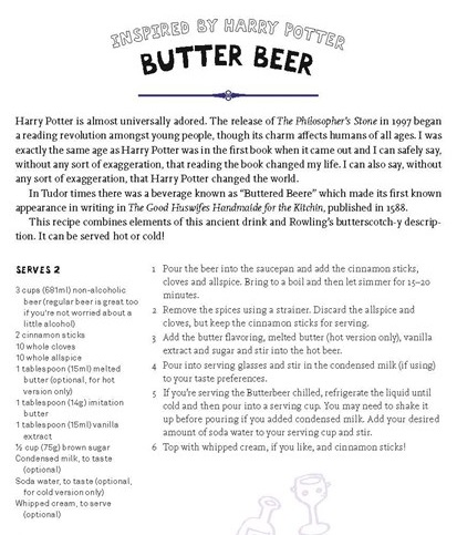 butter beer recipe
