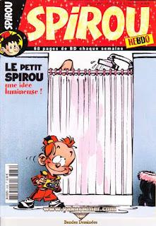 Spirou Hebdo, le petit Spirou, une idée lumineuse !, numéro 3636