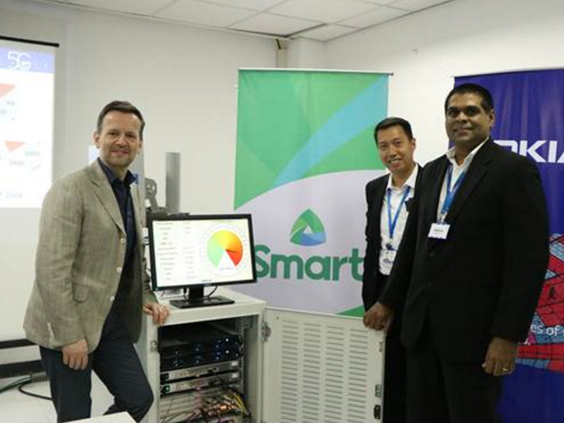 Smart and Nokia showcased 5G in PH!