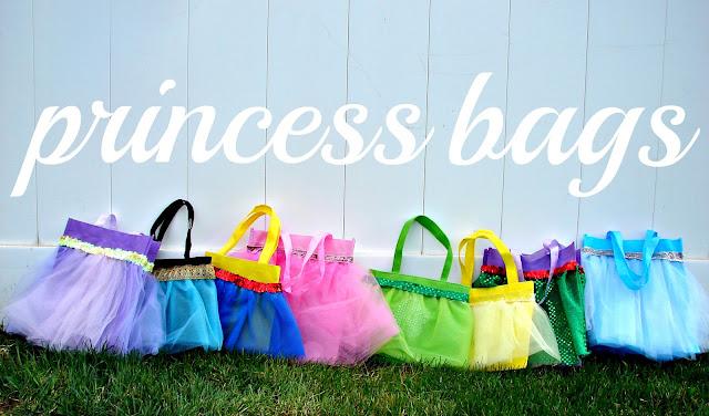 DIY Princess Bags