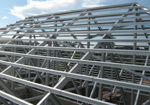 cara menghitung pemakaian baja ringan untuk atap rumah kelebihan dan kekurangan rangka