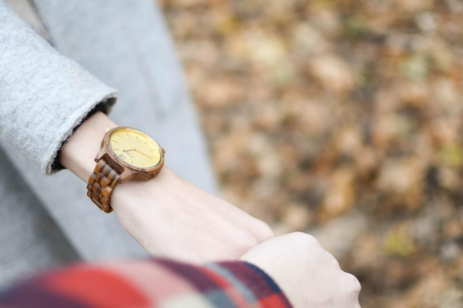 JORD Frankie wooden watch