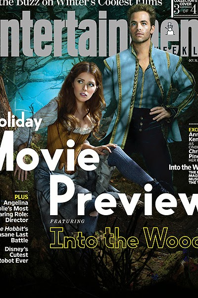 Anna Kendrick and Chris Pine-woods