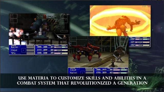 Permainan RPG Terbaik Offline Final Fantasy VII MOD APK
