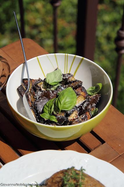 melanzane al basilico