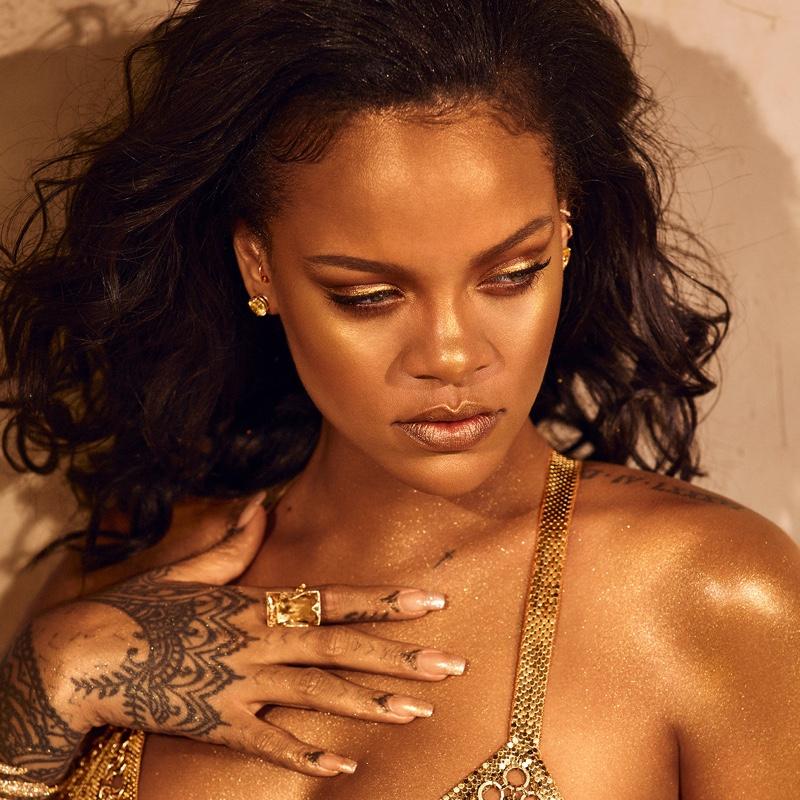Fenty Beauty by Rihanna Body Lava Campaign
