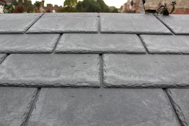 DIY installation of slate roof