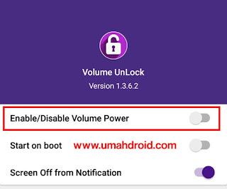 Meyalakan Layar Android Tanpa Tombol Power
