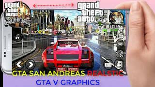 gta v realistic graphics for gta san andreas in android || Technical Tomorrow
