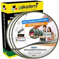Görüntülü KPSS Geometri Eğitim Seti 12 DVD