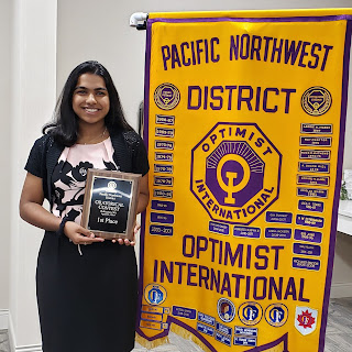 pnw optimist clubs oratorical