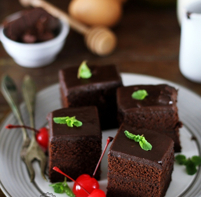 Gambar Resep dan Cara Membuat Brownies Kukus Ny Liem
