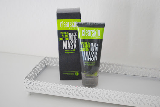 BLACK MINERAL MASK CLEARSKIN BY AVON