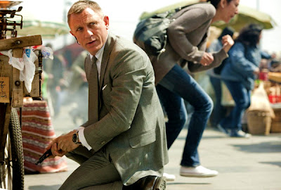 Un Spot Tv Elegant Pentru Skyfall, Noul Film James Bond Cu Daniel Craig