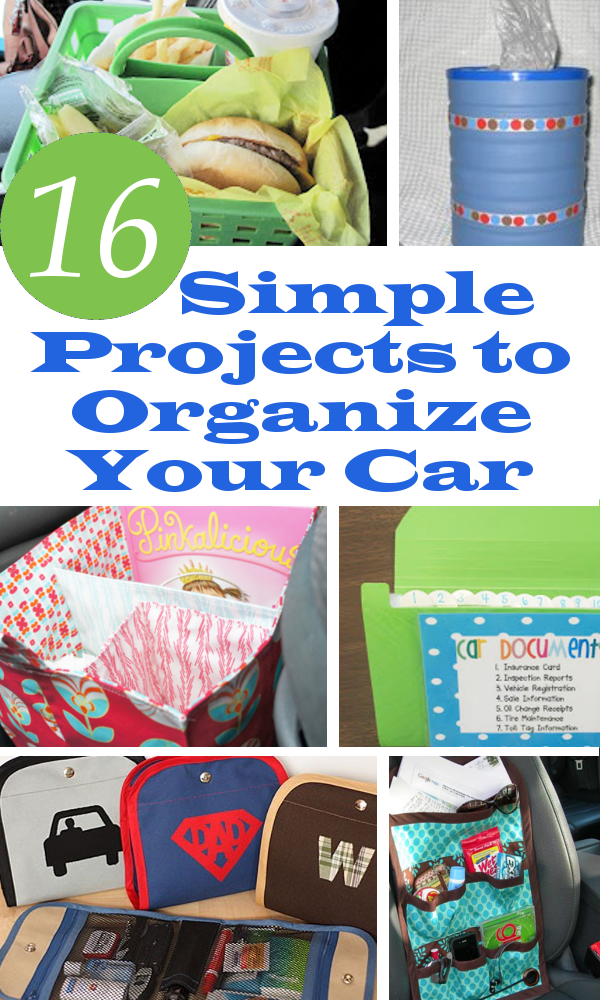 organize projects diy