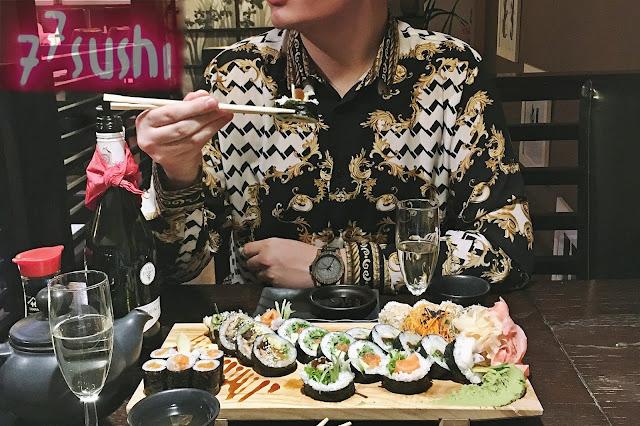 Sushi w domu? Kto by to robił, wybrałem się do Sushi — Mastera | Z wizytą w japońskiej restauracji Sushi77