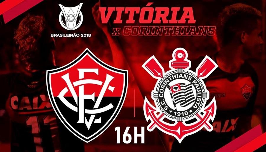Assistir Vitória x Corinthians ao vivo HD pelo Campeonato Brasileiro 1