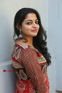 Telugu Actress Nikhila Vimal Latest Stills in Anarkali Dress  0110.JPG